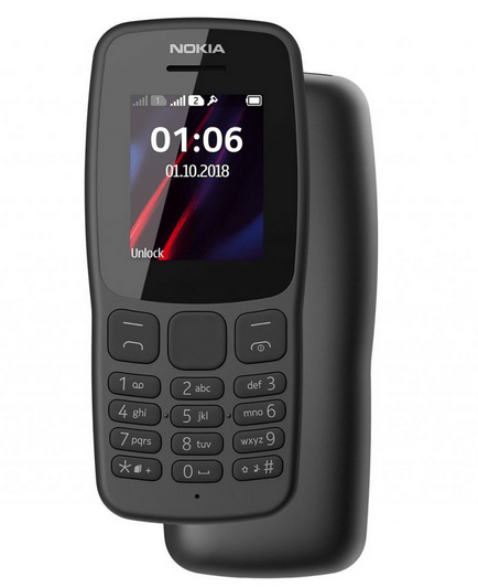 HMD Global Launches Affordable Nokia 106 (2018)